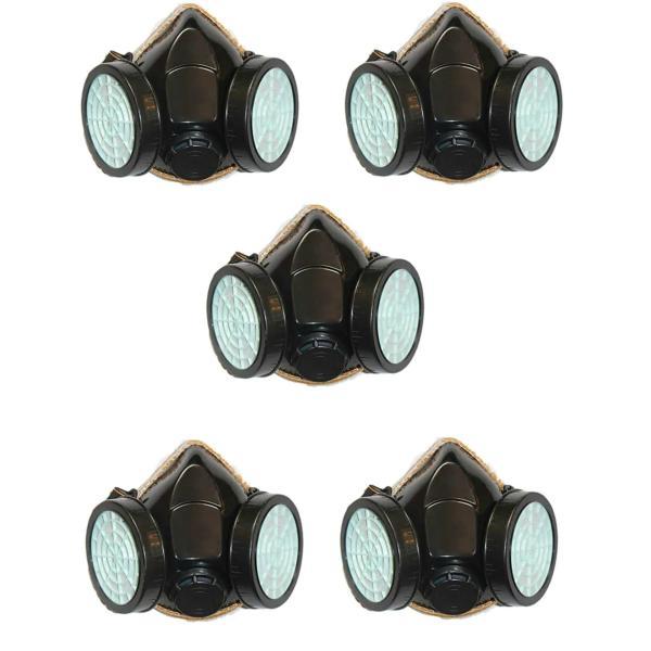 Bộ 5 Cái Mặt Nạ 2 Pin Phòng Độc, Chống Khói, Thoát Hiểm, Đám Cháy Gia Đình, Toà Nhà Chung cư, Karaoke