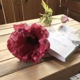 Giá Bán Bộ 5 Canh Hoa Poppy Trang Tri Cao Cấp Trắng Hoặc Đỏ Mới