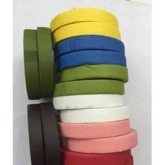 Bộ 5 cuộn băng keo sáp – màu xanh lá