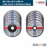 Mua Bộ 5 Đĩa Cắt 2 X100 Va 5 Đĩa Mai 6 X 100 Bosch Đen Rẻ Trong Hà Nội