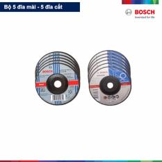 Bán Bộ 5 Đĩa Cắt 2X100Mm Va 5 Đĩa Mai 6X100Mm Bosch Đen Bosch Có Thương Hiệu