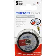 Chiết Khấu Bộ 5 Đĩa Cắt Nhựa 38 Mm Ez Lock Dremel Ez476