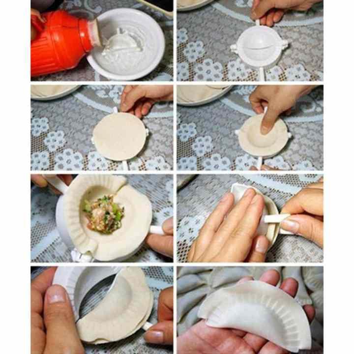 Bộ 5 khuôn làm sủi cảo, bánh xếp Tashuan