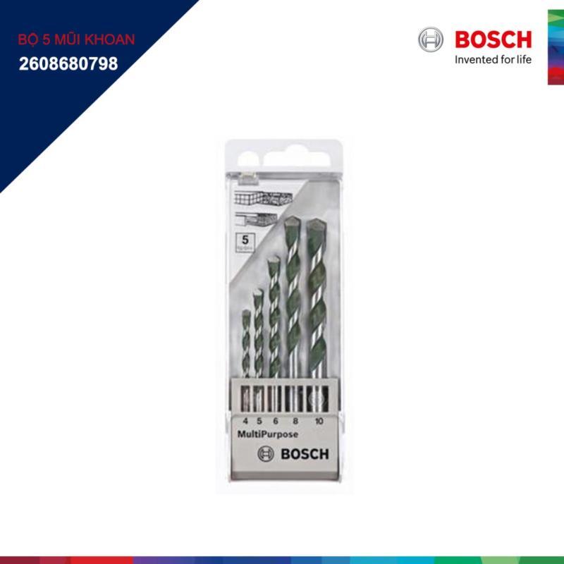 Bộ 5 mũi khoan đa năng Bosch 2608680798