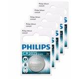 Mã Khuyến Mại Bộ 5 Vỉ 1 Vien Pin Philips Minicell Cr2025 3V Trắng Rẻ