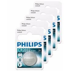 Ôn Tập Cửa Hàng Bộ 5 Vỉ 1 Vien Pin Philips Minicell Cr2032 3V Trắng Trực Tuyến