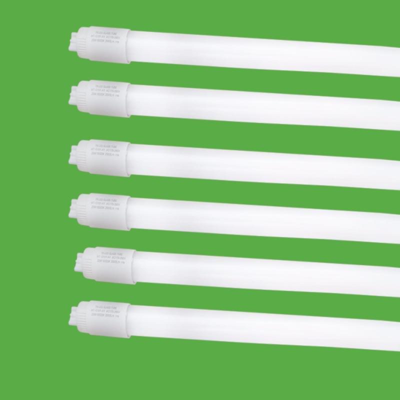 Bộ 6 Bóng đèn led Tuýp thủy tinh 12W 0,6m  ánh sáng trắng