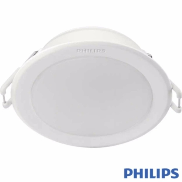Bộ 6 đèn Philips LED Downlight âm trần 59201 5,5W (Trắng/Vàng)