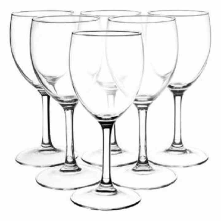 Bộ 6 ly rượu thủy tinh Luminarc Savoie 250ml 11907
