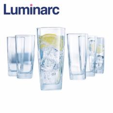Giá Bán Bộ 6 Ly Thủy Tinh Cao Luminarc Sterling 330Ml G2519 Trong Suốt Nguyên