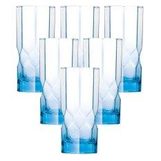 Cửa Hàng Bộ 6 Ly Thủy Tinh Cao Luminarc Octime Diamond Ice Blue 320Ml J7982 Xanh Luminarc Trong Hồ Chí Minh