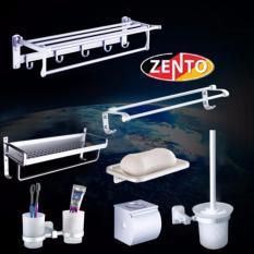 Bộ phụ kiện nhà tắm hợp kim nhôm Zento OLO-137