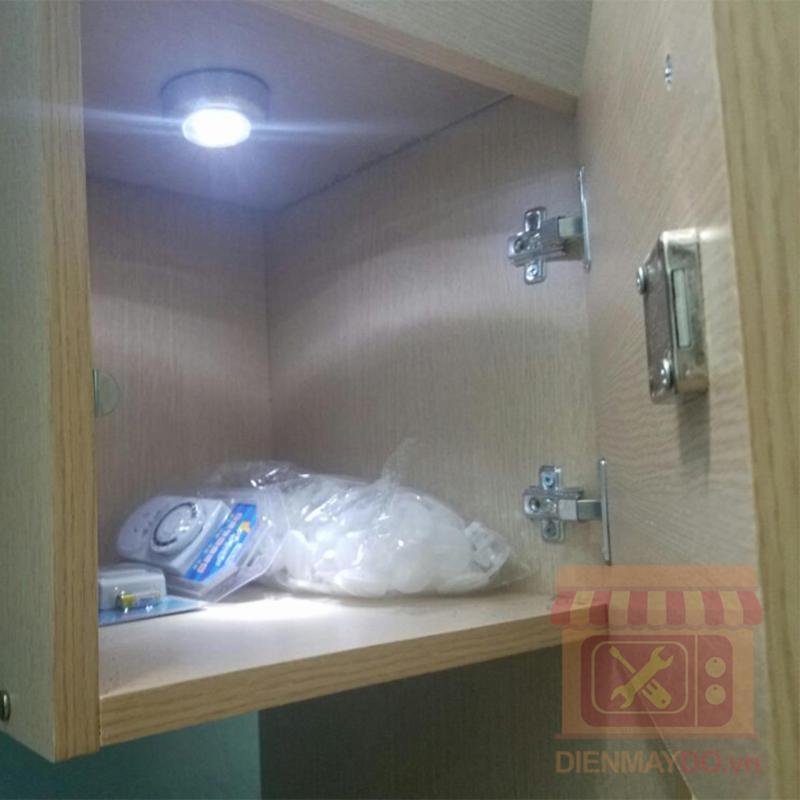 Bảng giá Bộ 9 đèn led dán tủ quần áo tiện dụng