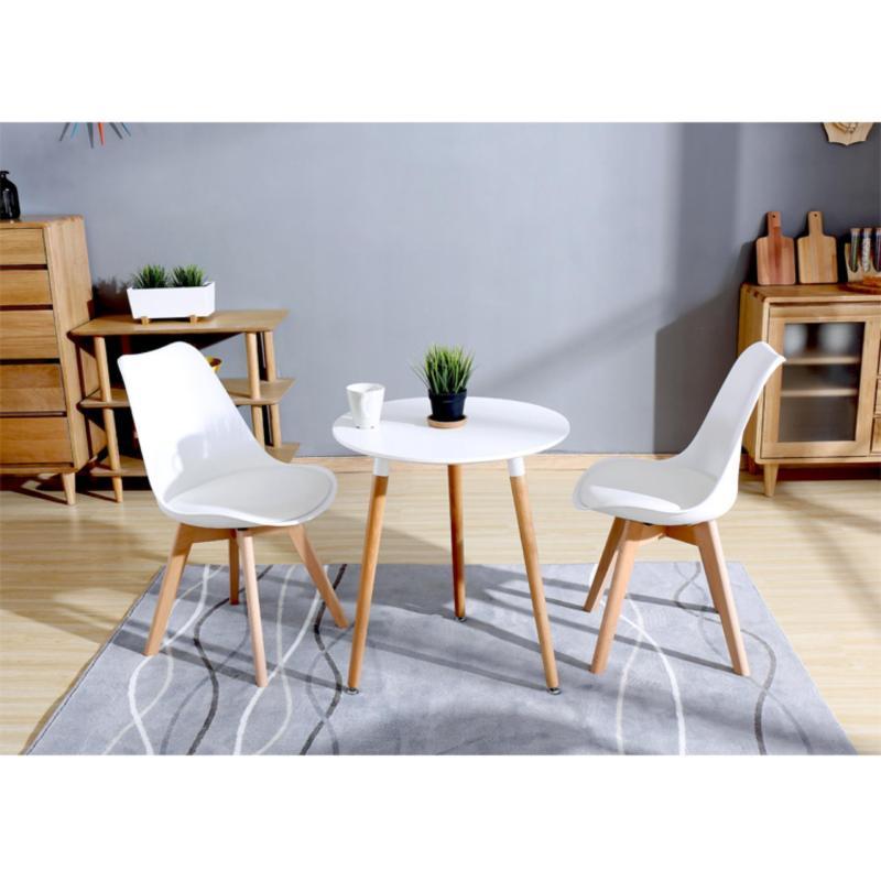 Bộ bàn Ăn Star 60cm & 2 ghế Nệm (chọn màu tùy thích)- Hàng Nhập Khẩu AZ PRICE giá rẻ