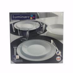 Giá Bán Bộ Ban Ăn Thủy Tinh Luminarc Harena 9 Mon Har09 6 Chen 11 5Cm 1 Đĩa 23Cm 1 Đĩa 25Cm 1 To 20Cm Luminarc Nguyên