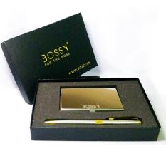 Bộ But Bi Doanh Nhan Va Hộp Danh Thiếp Bossy Bsc1 009 Rẻ