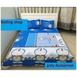 Giá Bán Bộ Chăn Ga Gối Poly Doraemon 1M6X2M Oem