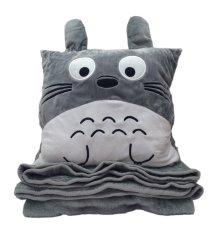 Bán Bộ Chăn Gối 3 Trong 1 Hinh Totoro Vuong Rẻ Nhất
