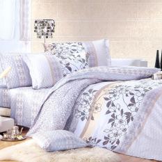 Giá Bán Bộ Chăn Ra Gối Cotton Fullset Lisse L Aube Full7092 Nhãn Hiệu L Aube