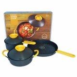 Bộ Chảo Nồi Vỉ Nướng Cookplus Speed Cook Lca3223Ysp3 Hồ Chí Minh Chiết Khấu