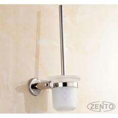 Chiết Khấu Bộ Chổi Cọ Kệ Đỡ Toilet Inox Zento Ha4644