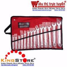 Bộ Cờ lê vòng miệng 14 chi tiết 8-24mm Yeti chất liệu thép cao cấp - KingStore