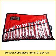 Hình ảnh Bộ cờ lê vòng miệng 14 chi tiết Yeti 8-24mm