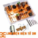 Giá Bán Bộ Combo Motor 335 12V Kem 10 Đầu Kẹp 12 Mũi Khoan Mini 105 Mon Đồ Nghề Phụ Kiện Cho Khoan Điện Mini Cầm Tay Mới