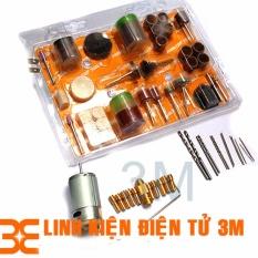 Bán Bộ Combo Motor 335 12V Kem 10 Đầu Kẹp 12 Mũi Khoan Mini 105 Mon Đồ Nghề Phụ Kiện Cho Khoan Điện Mini Cầm Tay Oem Có Thương Hiệu