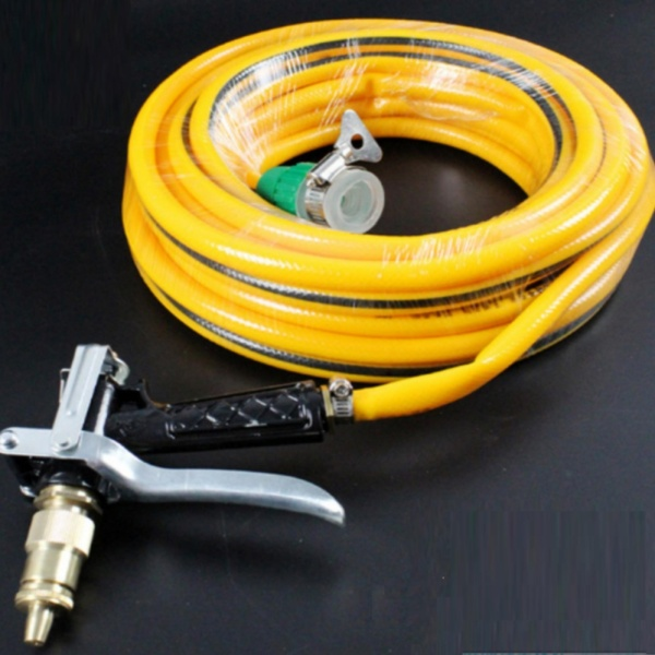 SIÊU HOT- Bộ dây và vòi phun tăng áp lực nước,vòi phun rửa xe,vòi tưới cây,Bộ dây và vòI  xịt tăng áp lực nươc 300% loạI  10m HQ PLaza T400I