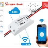 Bộ điều khiển bật tắt và hẹn giờ thiết bị qua Wifi 3G SONOFF (công tắc online)