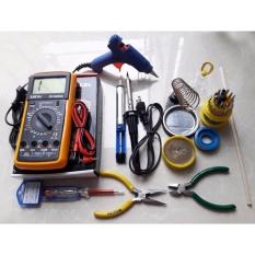 Bộ đồ nghề sửa chữa điện tử - sửa chữa điện thoại 12 in 1 số 9