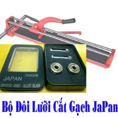 Bộ đôi lưỡi cắt gạch Japan cho máy cắt gạch bàn đẩy (Siêu cắt)
