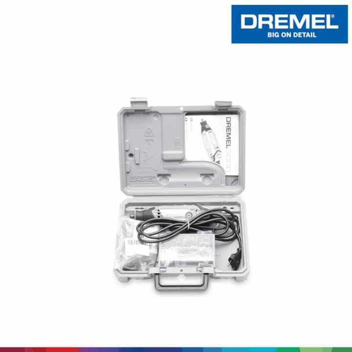 Bộ dụng cụ đa năng Dremel 3000 1/26, 26 phụ kiện Dremel F0133000PK (Đen phối trắng)