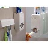 Bộ dụng cụ lấy kem đánh răng tự động và giá treo bàn chải