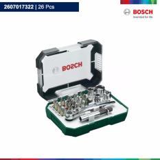 Hình ảnh Bộ dụng cụ ốc vít 26 món Bosch 2607017322