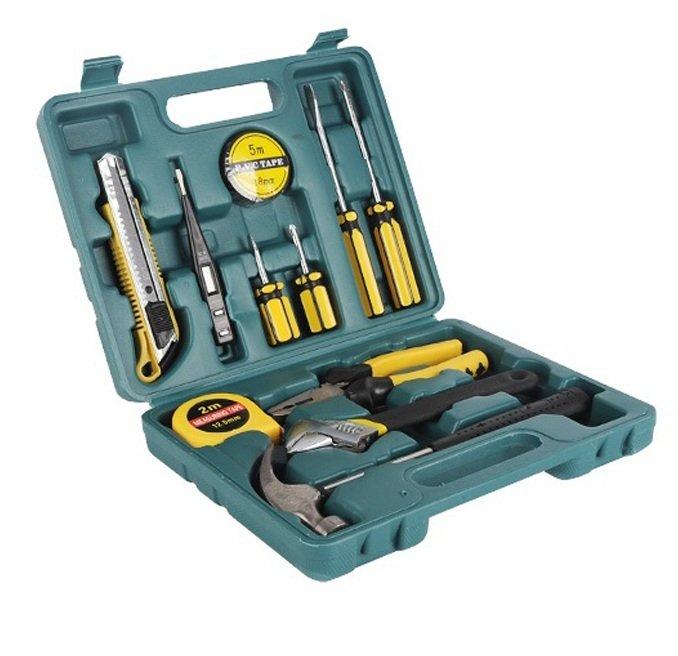 Bộ dụng cụ sửa chữa đa năng gia đình 16 món (Xanh)