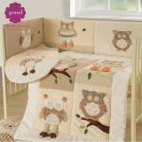 Bộ Giường Cũi 100 Cotton Cao Cấp Grand Baby 01 Hà Nội