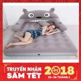 Bộ Giường Hơi Cao Cấp Hinh Totoro Đang Yeu Tặng Kem Bơm Mới Nhất