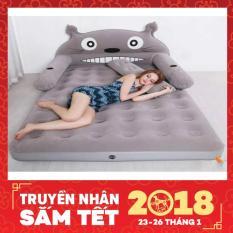 Bộ giường hơi cao cấp hình Totoro_(Tặng kèm bơm) - Kmart