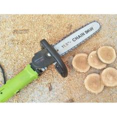 Hình ảnh Bộ lam cưa xích Chain Saw dùng cho máy cắt cầm tay - Tặng tấm chắn bảo vệ