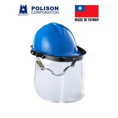 Hình ảnh Bộ mặt nạ mài cắt kết hợp nón bảo hộ Blue Eagle - Đài Loan