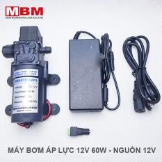 Bộ máy bơm áp lực 12V 60W