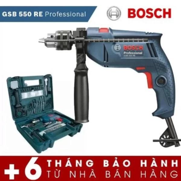 Bộ máy khoan Bosch GSB 550 Professional set 100 chi tiết