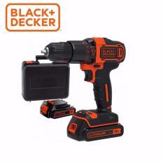 Mua Bộ May Khoan Bua Black Decker Dung Pin Lithium 18V 2 Pin Vali 100 Phụ Kiện Bdchd18K2A New 2017 Black Decker Trực Tuyến
