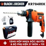 Giá Bán Bộ May Khoan Cầm Tay Va 37 Chi Tiết Black Decker Kr704Re Mới Nhất
