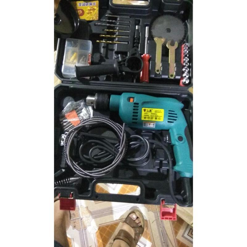 Bộ máy khoan Đa Năng MOD - 66133 - 2000W Hàng Trung ương (kèm bộ lưỡi cắt và dây thông cống)