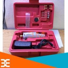 Hình ảnh Bộ máy khoan mài đa năng mini hộp đỏ 12V tiện dụng nhỏ gọn