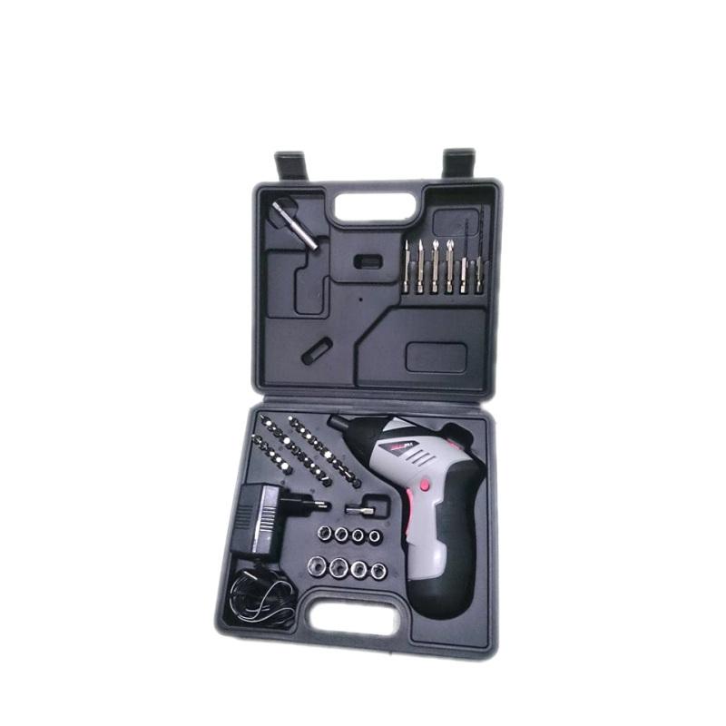 Bộ máy khoan và vặn ốc vít kèm 45 chi tiết không dây dùng pin sạc