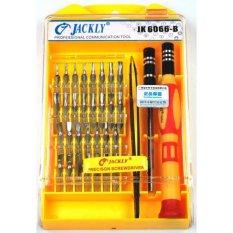 Hình ảnh Bộ tô vít Jackly JK6066-B (Vàng)